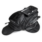 Магнитный топливный бак Сумка мотоцикл Масло Седельные сумки с сенсорным экраном для хранения телефона Сумка Черный