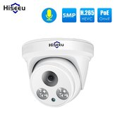 Hiseeu HC615-P-3.6 5MP 1920P POE IP-kamera H.265 Audio Dome Kamera ONVIF Mtion Detection For PoE NVR App View