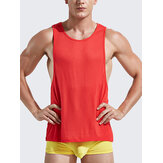 Mens Fitness Training Sleeveless Vest Breathable Running Sport Cotton Tank Tops