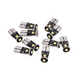 10Pcs Sealight T10 SMD3030 LED Car Light Reading Lamp License Lamp Refitted Driving Lamp Universal