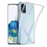 Bakeey Crystal Clear Transparent Non-yellow Shockproof Soft TPU Protective Case for Samsung Galaxy S20+ / Galaxy S20 Plus
