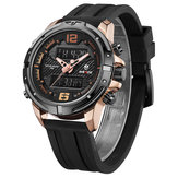 WEIDE WH8602 Casual Style LCD Display Men Wrist Watch