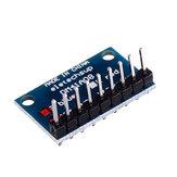 5 adet 3.3 V 5V 8 Bit Mavi Ortak Katot LED Göstergesi Ekran Modülü DIY Kit