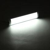 Auto 72 LEDS 3 Row Indoor Deckenleuchte Fach Lampe Mit Schalter Weißes Licht Für Anhänger Lkw Allgemeine 12 v / 24 v