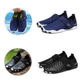 Zapatos de vadeo ultraligeros a rayas Slip-on de secado rápido al aire libre Natación deportiva Playa Zapatos Yoga Zapatos