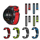 22mm Dual Color Silicone Strap Watch Band Watch Strap for Xiaomi Watch Color Non-original