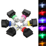 T10 SMD5050 194 LED Bulbs Car License Plate Lights Bulb Instrument Gauge Cluster Dash Light With Socket