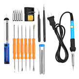60W 20 in1 Solder Iron Tool Kit Electronics Welding Irons Solder Tools Adjustable Temperature
