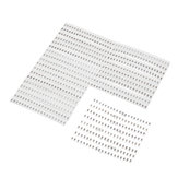 720Pcs 1206 SMD Capacitor Assorted Kit 36 Values 1pF~10uF Samples Kit