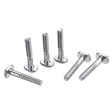 Drillpro 20pcs M6x40mm T-Nut T Sliding Screws For  30 Series Miter Track Woodworking Tool