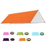 210x200cm nedvességálló szőnyeg 210D Anit-UV sátor napernyő függőágy menedék kemping pad