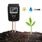 3-in-1 Soil PH Meter Moisture Tester Indoor Plants Garden Lawn Light Sensor Soil Monitor
