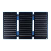 25 Вт ETFE Складная Солнечная Панель Dual USB Портативный Power Bank IP68 Кемпинг Пеший туризм Восхождение