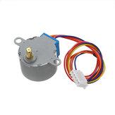 5PCS 28BYJ-48 5V 4 Phase تيار منتظم Gear Stepper Motor DIY Kit Geekcreit لـ Arduino - المنتجات التي تعمل مع لوحات Arduino الرسمية