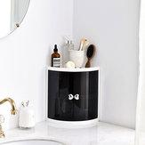 Creatieve badkamer Hoekplankrek Keuken Badkamer Dubbele deur Opbergruimte Bespaar