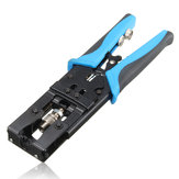 Crimper Pliers Tool Coax Compression Crimping Cable Connectors Wire Plier RG59/RG58/RG6 BNC/RCA/F