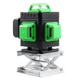 5800mAh 16ライングリーン360°レーザーレベルクロスセルフレベリング測定ツールセット+ RC