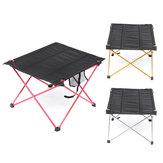 Ultra-leve mesa dobrável portátil mesa de piquenique de viagem churrasco acampamento ao ar livre caminhadas