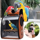 Pet Parrot Bird Carrier Travel Backpack Space Capsule Przezroczysta torebka