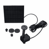 7V 1.4W Solar Panel Powered Fountain 180L/H Submersible Water Pump Pond Kit Garden Pond
