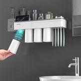 Suporte de escova de dentes magnético mutifuncional