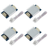 TWO TREES® 4Pcs TL mais suave Plus Módulo Addon + 4Pcs Heat Sink Kit para drivers de motor 3D Pinter I3