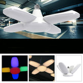 E27/E26 AC165V-265V Warm White Colorful 60W 2835 164LED Light Bulb Ceiling Fan Blade Deformable Garage Lamp