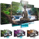 5P Canvas Print Imagem moderna Wall Art Decorations Home Zen Pintura de paisagem
