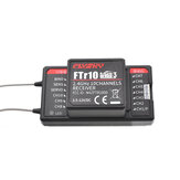 جهاز استقبال RC Flychky FTr10 2.4G 10CH AFHDS 3 RC الدعم i-BUS / S-BUS / PPM Output متوافق PL18 لـ RC Drone