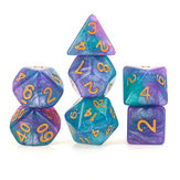 7pcs/Set Polyhedral Dices for DND RPG MTG Game Dungeons & Dragons D4-D20 Colors Dice