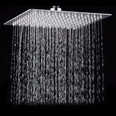 Pulvérisateur supérieur ultra mince de place de douche de pluie de salle de bains d'acier inoxydable de place de 8 pouces