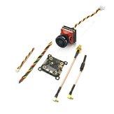 EACHINE TXC23 VTX + CADDX TURBO EOS2 1200TVL CAM 5.8 Ghz 48CH FPV Mini Verici Kamera Mobula7 Wizard x220s için Combo