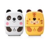 Practical Tiger Panda Animal Shaped Mini Manual Pencil Sharpener Gifts Office School Students Stationery Supplies
