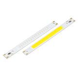 DC5V 3W 80x7.5mm COB LED Strip Bar Light Quente Frio Branco Vermelho Azul Verde Cor Lâmpada Emissor de diodo Chip
