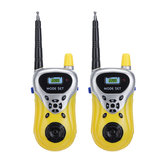 2Pcs Enfants Talkie Walkie 446 MHz 8 canaux Talkies UHF Longue Portée Enfants Talkie Walky