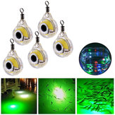 ZANLURE 5 Pcs Underwater LED Fishing Lampu Fluorescent Cahaya Umpan Night Light