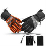 Electric Heated Winter Warm Gloves Motorcycle Motorbike Windproof Waterproof Ski