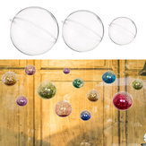 10Pcs 50/70/100/120mm Christmas Magic Ball Clear Transparent Tree Balls Bauble Christmas Ornament Home Decorations Gift