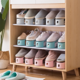 Dust Proof Shoe Racks Household Receive Simple Shoes Bracket Organizer Footwear Support