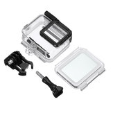 Camera Waterproof Housing Case Diving Touch Screen Cover For Gopro Hero 7 Silver White