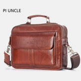 Men Genuine Leather Business Bag Handbag Shoulder Bag