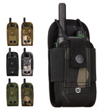 Xmund XD-DY35 Walkie Talkie Bag Outdoor Molle Tactical Storage Bag Survival Kit