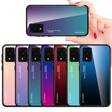 Do Samsung Galaxy S20 Bakeey Gradientowe szkło hartowane w kolorze, odporne na wstrząsy, odporne na zarysowania