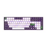 iQunix F96 Joker 100 Tasten 96% Layout NKRO USB-Kabel Cherry MX Switch PBT-Tastenkappen RGB Mechanical Gaming Keyboard für PC-Laptop