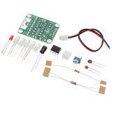 EQKIT® TDL-555 Сенсорная задержка Светодиодный DIY Набор Сенсорная задержка Лампа Производство электронных деталей Набор DC 5V От 3 до 130 с Регулиру