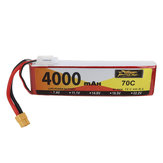 ZOP Power 7.4V 4000mAh 70C 2S Lipo Battery XT60 Plug for RC Drone