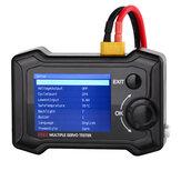 ToolkitRC ST8 8CH 100W 2A 7-28V LCD Servospezialtester PWM / PPM / SBUS Signal Speed Liner Stufenservoanalysator Mit 4-Wege-unabhängigem Programmsignal