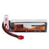 Puissance de ZOP 11.1V 2800mAh 45C 3S Lipo Batterie T Plug pour avion de voiture de RC