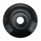 85mm Disco de Modelagem Extrema Disco de Carboneto de Tungstênio Escultura Em Madeira Moedor de Disco Roda Abrasiva Lixar Ferramenta Rotativa para Rebarbadora