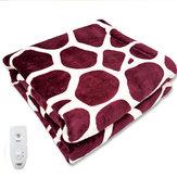 Couverture chauffante électrique de voyage de 220V 70W Soft couvertures chaudes de couette de flanelle pour le bureau de voiture